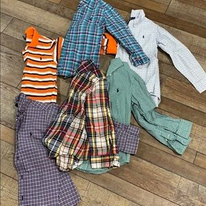Ralph Lauren boys long sleeve size 6